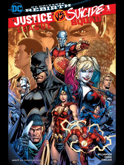 Justice League v Suicide Squad #1