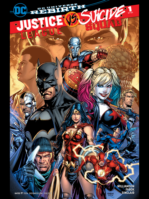 Justice League v Suicide Squad #1