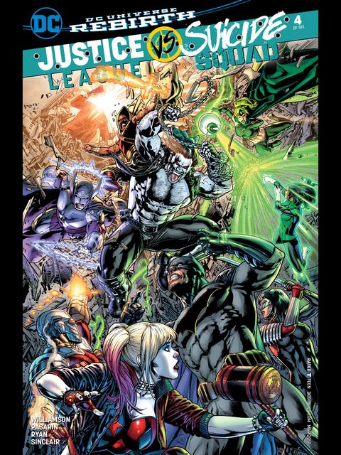Justice League vs Suicide Squad #4