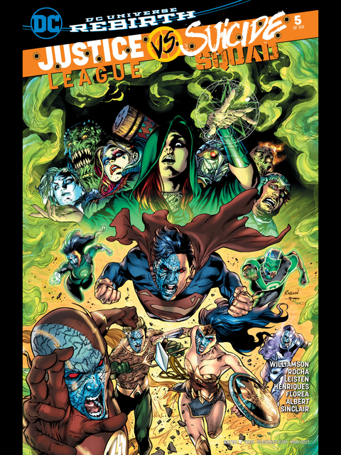 Justice League v Suicide Squad #5