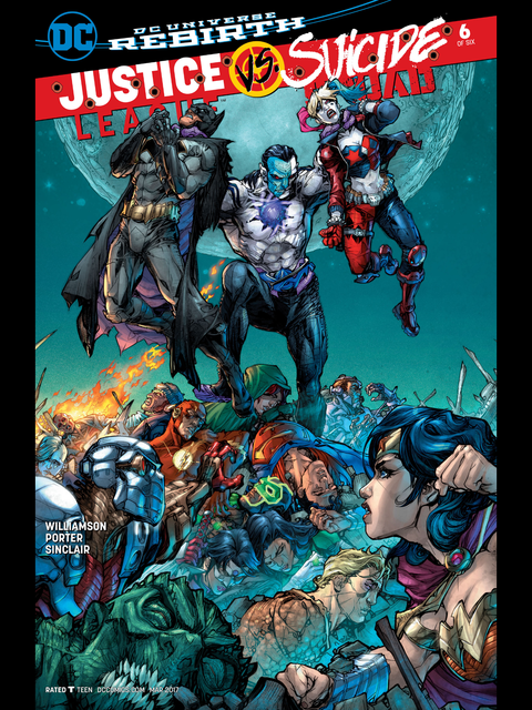 Justice League v Suicide Squad #6