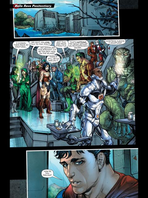 Captain Boomerang hits on Wonder Woman