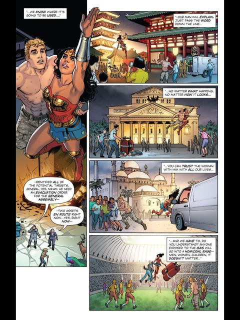 Wonder Woman saves the world