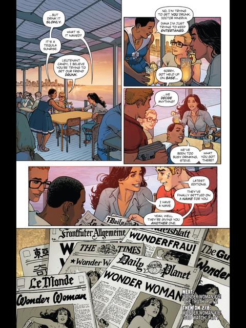 Wonder Woman named!