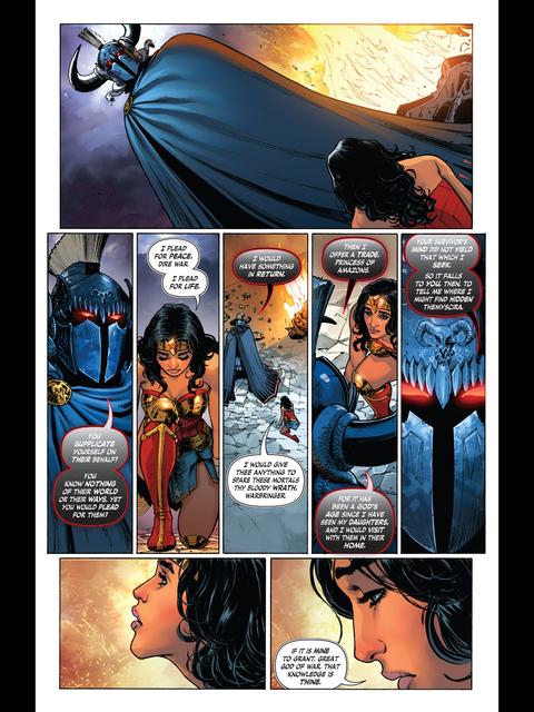 Wonder Woman submits