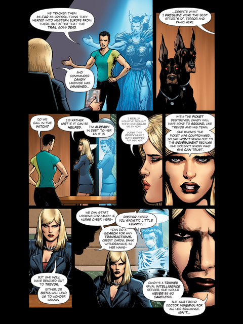 Wonder Woman's enemies
