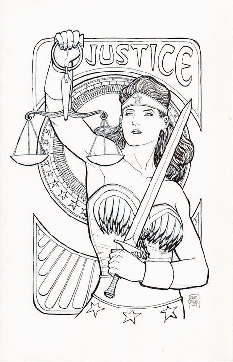Cliff Chiang - Justice