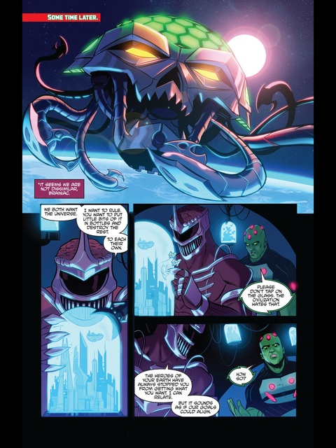Lord Zedd and Brainiac