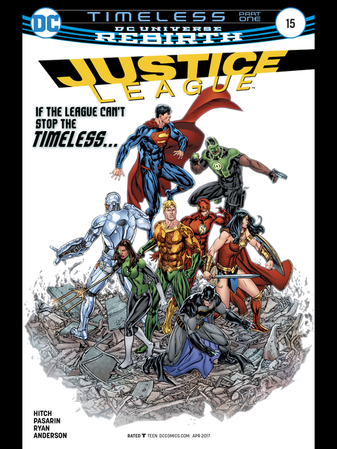 Justice League (Rebirth) #15