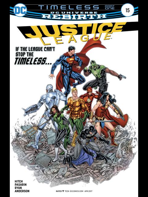 Justice League (Rebirth) #15