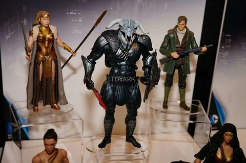 Ares figure from the Mattel toy fair
