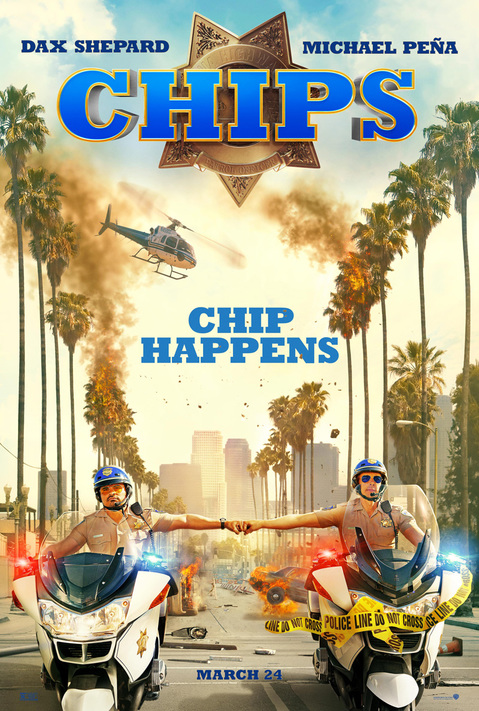 The poster for CHIPS