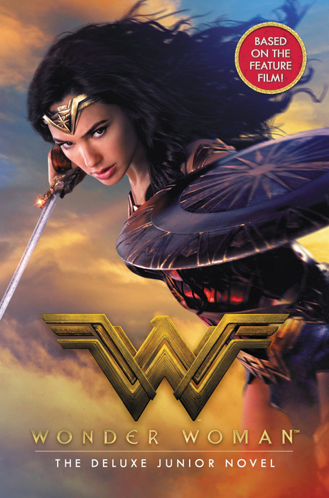The Wonder Woman young adult novel front cover