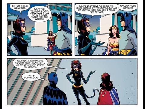 Catwoman seeks asylum