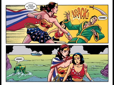 Diana intervenes