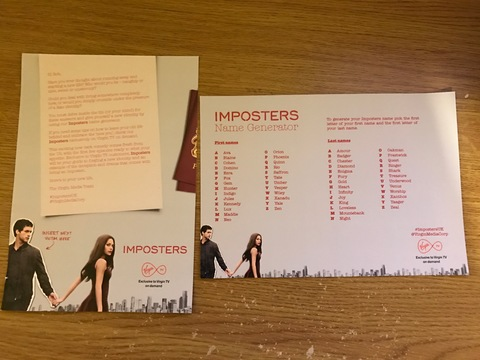 Imposters card