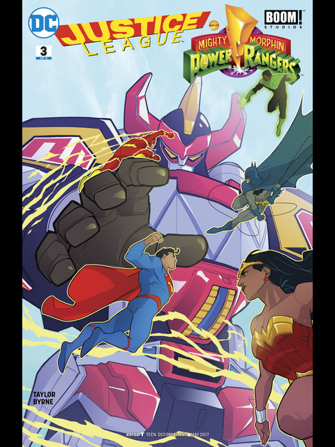 Justice League Power Rangers #3