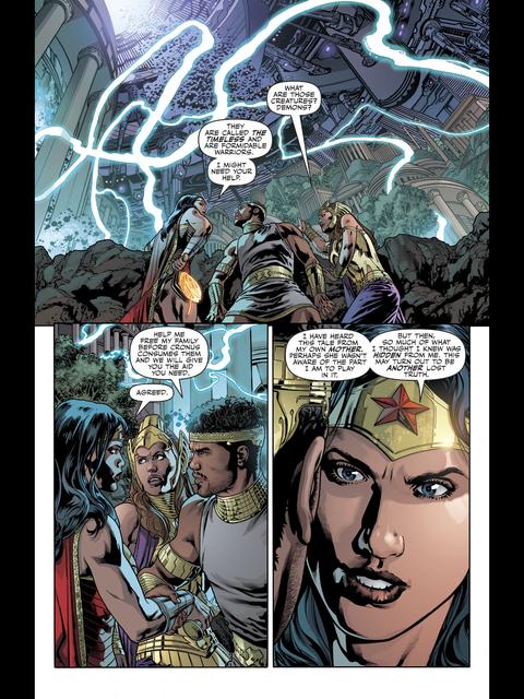 Diana allies herself with Zeus