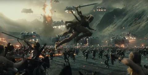 Justice League Trailer Amazons