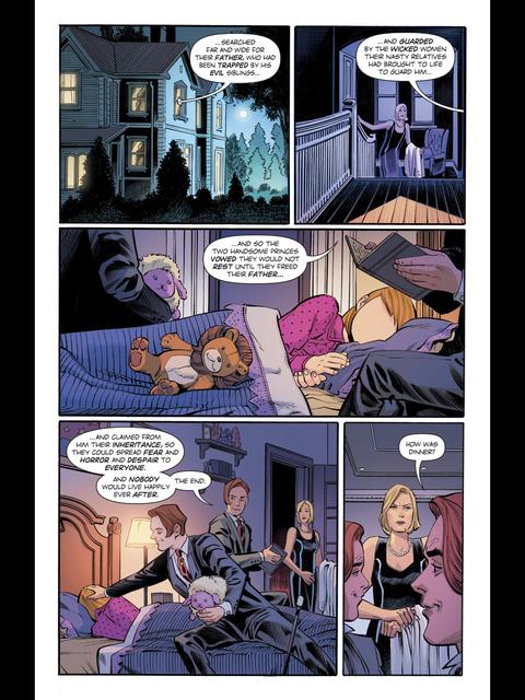 Phobos and Deimos read a bedtime story