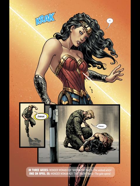 Diana is shot