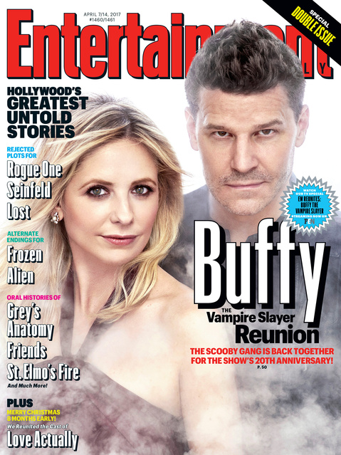 Entertainment Weekly Buffy reunion cover