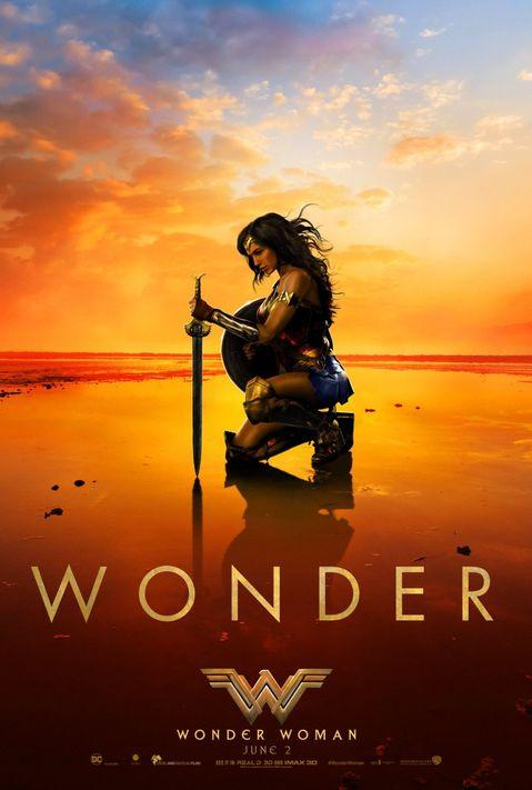 Wonder Woman poster: Wonder
