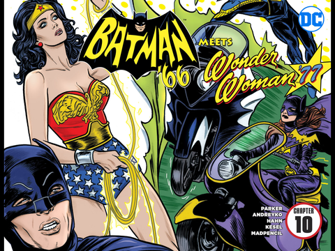 Batman '66 meets Wonder Woman '77 #10