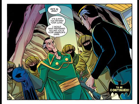 Ra's enters the Batcave