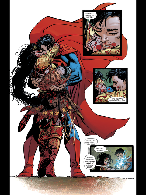 Wonder Woman and Superman reunited