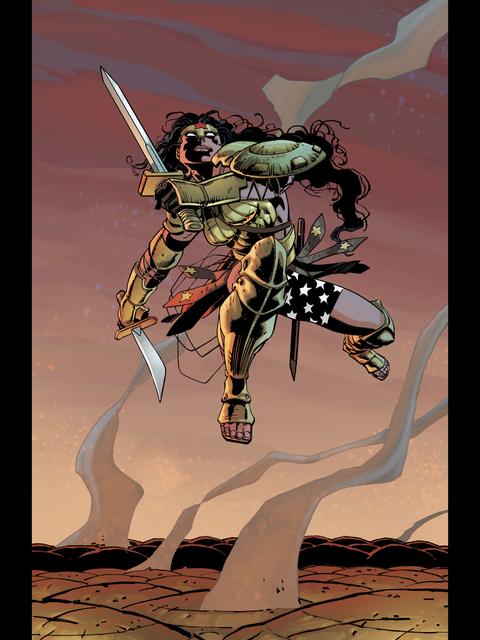 Wonder Woman arrives
