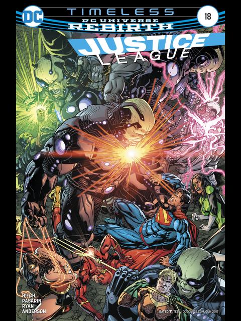 Justice League (Rebirth) #18