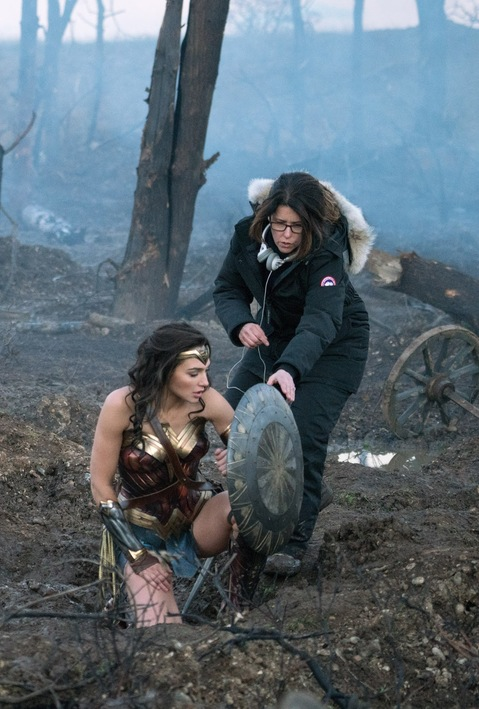 Wonder Woman filming