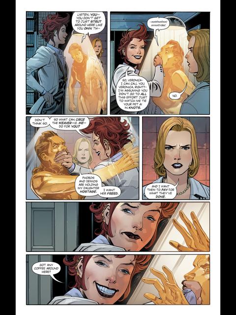Circe meets Doctor Cyber
