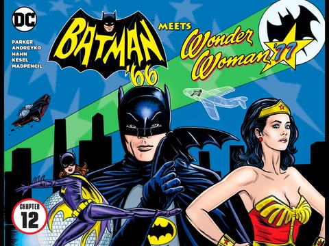 Batman '66 meets Wonder Woman '77 #12