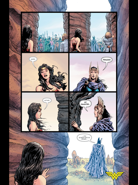 Diana says goodbye to her mother