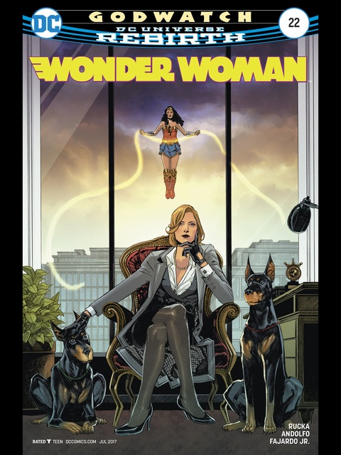 Wonder Woman (Rebirth) #22