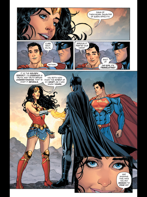 The Lasso reveals even Batman's name