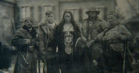 Wonder Woman movie soldiers