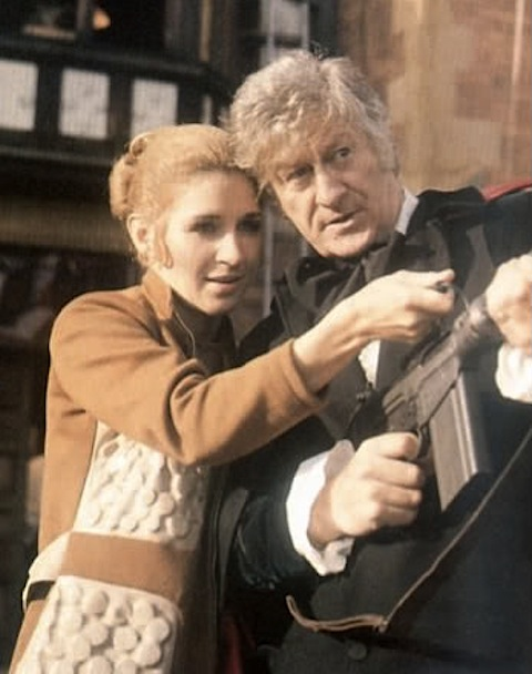 Liz Shaw and the third Doctor